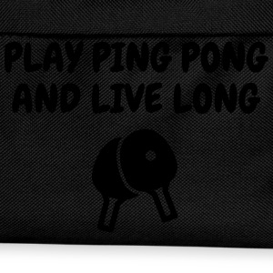Table Tennis - Ping Pong - Sport - Racket - Ball T-Shirts - Kids' Backpack