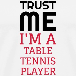 Table Tennis - Ping Pong - Sport - Racket - Ball Mugs & Drinkware - Men's Premium T-Shirt