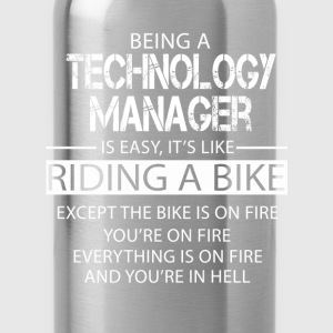 Technology Manager T-Shirts - Water Bottle