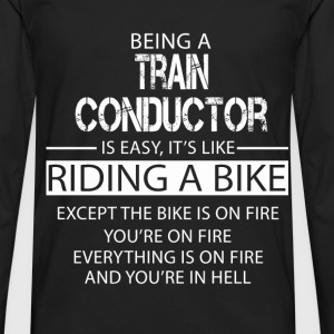 Train Conductor T-Shirts - Men's Premium Longsleeve Shirt