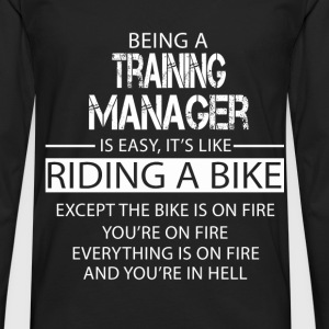 Training Manager T-Shirts - Men's Premium Longsleeve Shirt