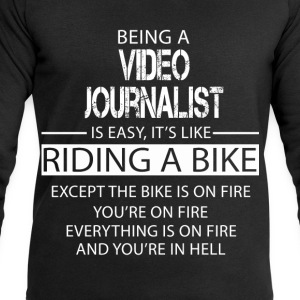 Video Journalist T-Shirts - Men's Sweatshirt by Stanley & Stella