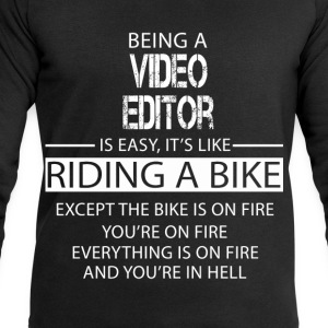 Video Editor T-Shirts - Men's Sweatshirt by Stanley & Stella