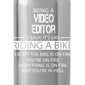 Video Editor T-Shirts - Water Bottle