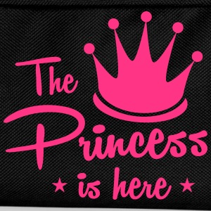 the princess is here with royal crown T-Shirts - Kids' Backpack