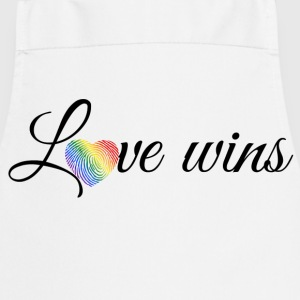 Love Wins Black Tops - Cooking Apron