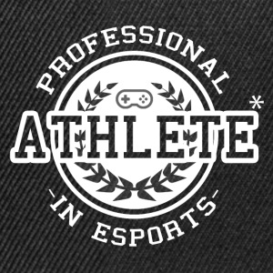 E-sports Athlete - Casquette snapback