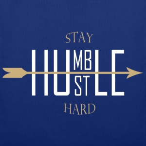 Stay humble hustle hard - Stoffbeutel