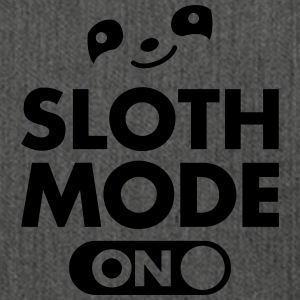 Sloth Mode (On) T-Shirts - Shoulder Bag made from recycled material