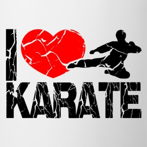 I love Karate  Tops - Tasse