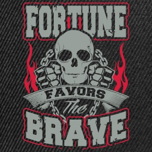 fortune favors the brave T-Shirts - Snapback Cap