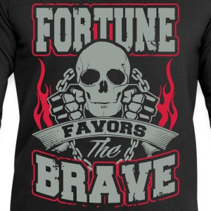 fortune favors the brave T-Shirts - Männer Sweatshirt von Stanley & Stella