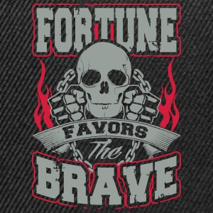 fortune favors the brave Sportbekleidung - Snapback Cap