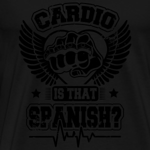 Cardio is that spanish Sportbekleidung - Männer Premium T-Shirt
