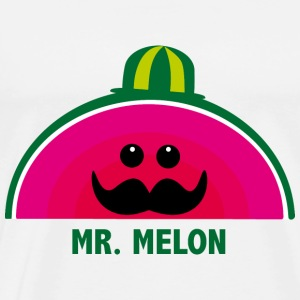 Mr. Melon  Aprons - Men's Premium T-Shirt