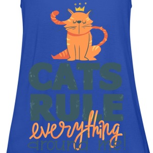 Marine Cats rule everything around me Tee shirts - Débardeur Femme marque Bella