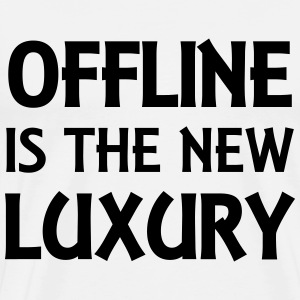 Offline is the new luxury Shirts met lange mouwen - Mannen Premium T-shirt