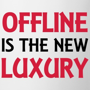 Offline is the new luxury Sports wear - Mug