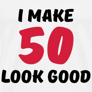 I make 50 look good Sports wear - Men's Premium T-Shirt