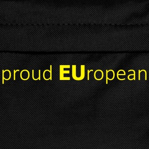 proud EUropean T-Shirts - Kids' Backpack