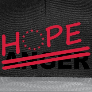 Hope over anger T-Shirts - Snapback Cap