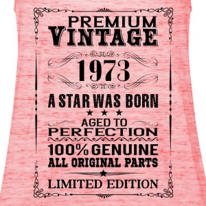 PREMIUM VINTAGE 1973 T-Shirts - Women's Tank Top by Bella