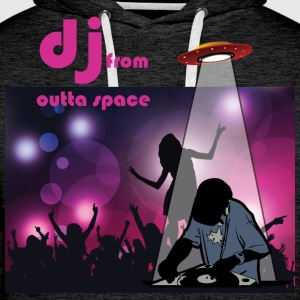 deejay from outer space T-Shirts - Männer Premium Hoodie