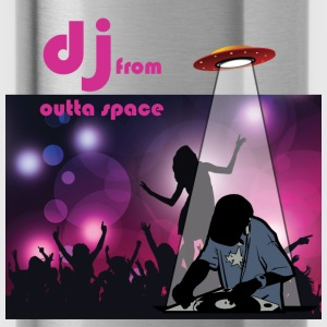 deejay from outer space T-Shirts - Trinkflasche