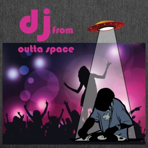 deejay from outer space T-Shirts - Schultertasche aus Recycling-Material