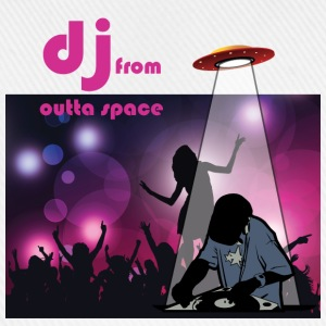 deejay from outer space Tops - Baseballkappe