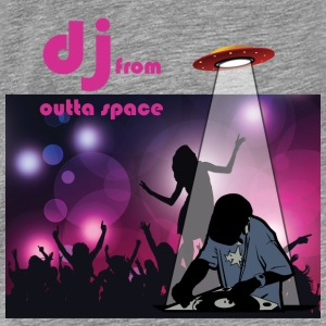 deejay from outer space Tops - Männer Premium T-Shirt