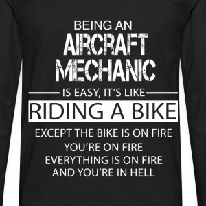 Aircraft Mechanic T-Shirts - Men's Premium Longsleeve Shirt