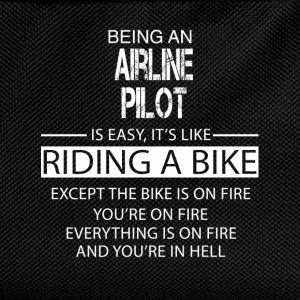 Airline Pilot T-Shirts - Kids' Backpack