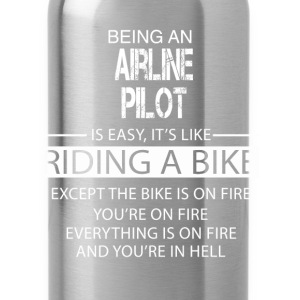 Airline Pilot T-Shirts - Water Bottle