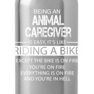 Animal Caregiver T-Shirts - Water Bottle