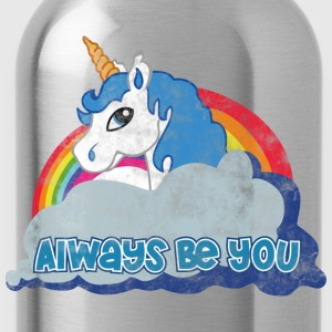 Always be you (Unicorn) grunge Pullover & Hoodies - Trinkflasche