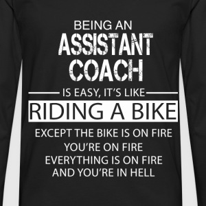 Assistant Coach T-Shirts - Men's Premium Longsleeve Shirt