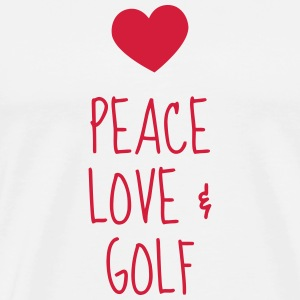 Golf - Sport - Golfer - Club - Green - Game - Play Mugs & Drinkware - Men's Premium T-Shirt