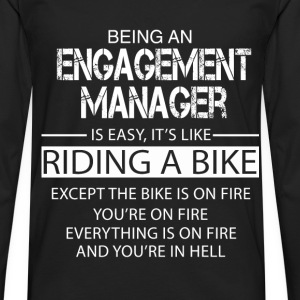 Engagement Manager T-Shirts - Men's Premium Longsleeve Shirt