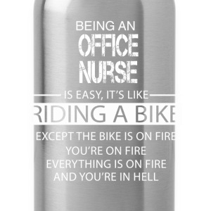 Office Nurse T-Shirts - Water Bottle