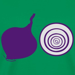 red onion Cooking Apron - Men's Premium T-Shirt