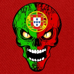 Portugal skull Tee shirts - Casquette snapback