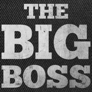 The Big Boss T-Shirts - Snapback Cap