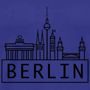 Berlin // @addicted - Männer Premium T-Shirt