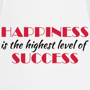 Happiness is the highest level of success Skjorter med lange armer - Kokkeforkle