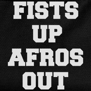 fists up afros out T-Shirts - Kids' Backpack