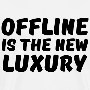 Offline is the new luxury Langærmede t-shirts - Herre premium T-shirt