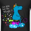 Can you feel the magic Unicorn? T-Shirts - Männer Urban Longshirt