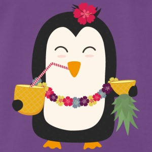 Hawaii Pinguin Toppe - Herre premium T-shirt