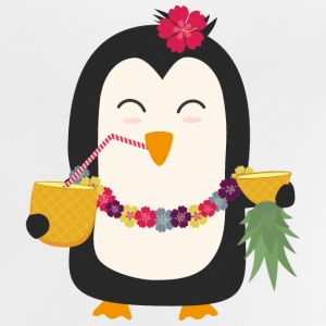 Hawaii Pinguin Langarmshirts - Baby T-Shirt